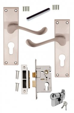 Euro Profile Locks and Door Handle Sets Now at Great Prices